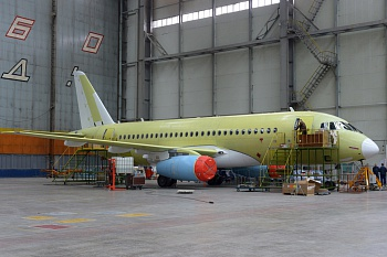 "JSC ""Aviastar-SP"" successfully completed the interior mounting in the next SSJ-100 aircraft for the SC ""Aeroflot"""